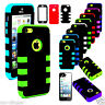Impact Hard Case +Silicone Hybrid Protector TUFF Case for Apple iPhone 5C +Film