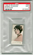 NORMA TALMADGE 1930 De Beukelaer Film Stars #395 PSA 9 MINT