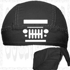 Jeep SKULL Cap Dew Bandana Do Motorcycle Sale Doo Hat Du Rag Biker