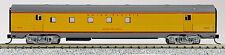 N Budd Passenger 72' RPO Car Union Pacific (Yellow/Grey) (1-41439)