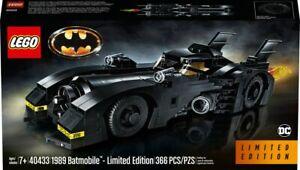 Lego 40433 1989 Batmobil Limited Edition RAR