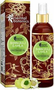 Oriental Botanics Bhringraj & Amla Oil For Hair 200 ml