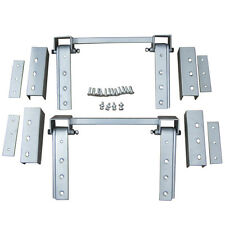 Universal Super Heavy Duty Hidden Hinge Kit For 2 Doors New