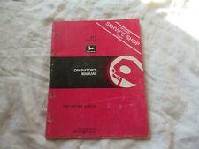 John Deere 347 baler operator's manual
