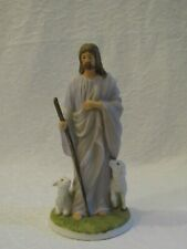 1992 Homco Home Interiors Masterpiece Porcelain Jesus The Shepherd Figurine