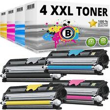 4x XXL TONER für KONICA MINOLTA MAGICOLOR 1600W 1650EN 1680MF 1690MF mit CHIP