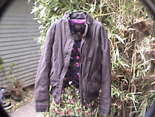 jacket great and comfy o'neill 100% cotton plaid flannel lining size xl uni-sex