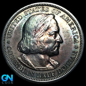 1893 Columbian Expo Commemorative Half Dollar --  MAKE US AN OFFER!  #K8793
