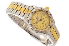 Vintage Tag Heuer 2000 Serie Edelstahl Stahl WE1420-R Damen Armbanduhr 1204