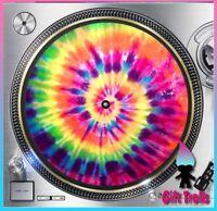"Tye Dye K1 Turntable Slipmat - 12"" LP Record Player, DJ Slip Mat AudioFreak"
