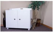 FurHaven White Bench Hidden Kitty Litter Box Enclosure New opened box  #Ne0mr