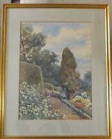 Antique Italy?  Landscape Watercolour Painting by Ina Clogstoun