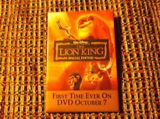THE LION KING SPECIAL EDITION WALT DISNEY MOVIE PIN
