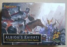 Albion's KNIGHTS - 28mm (Fireforge) - Mounted Medieval Knights - 3 MODELS
