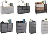 Modern Drawer Dresser Bedroom Storage Fabric Furniture Clothes Cabinet Office