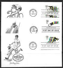 U.S. # 1460-62  OLYMPICS  (3)   FDC
