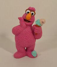 "1997 Telly Ice Cream 3"" Tyco PVC Action Figure Sesame Street Workshop Henson"