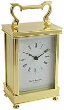 David Peterson Unisex Captains Quartz Clock - Gold