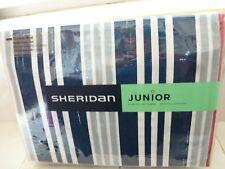 "SHERIDAN JUNIOR STRIPED ""BENJAMIN"" DOUBLE QUILT COVER SET NEW"