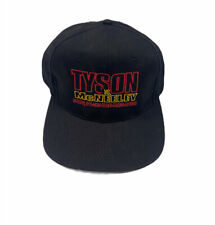 Vintage 90s Mike Tyson Peter Mcneely Boxing Snapback Hat Black 1995 MGM