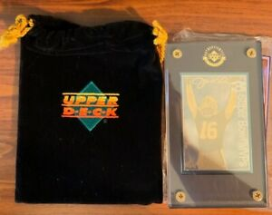 1995 UD Authenticated Joe Montana  3 Superbowl MVP's SF 49ers/1995 Free Shipping