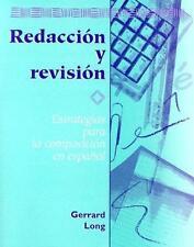 Redaccion y Revision : Estrategias para la Composicion en Espanol