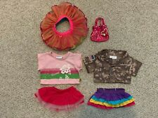 Lot of Build a Bear Workshop Clothes and Accessories
