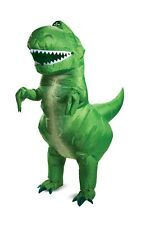 Adult Toy Story 4 Rex Inflatable Dinosaur Costume One Size