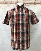 Fat Face Men's the Heritage Check Cotton Short Sleeve Shirt Size S