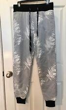 $98 NEW RIVALDI BLACK Water Resistant Windbreaker Active Pants Sz M  NWT