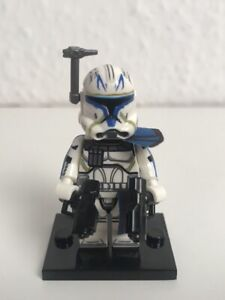 Star Wars Clone Captain Rex Phase 2 Custome LEGO Kompatible Minifigur Neu