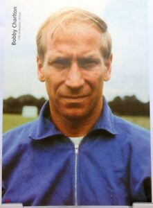 Bobby Charlton + Fußball Nationalspieler England + Fan Big Card Edition D9 +