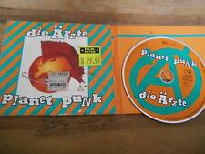 CD Punk Ärzte - Planet Punk (17 Song) METRONOME MUSIK Toten Urlaub Bela B DÄ cb