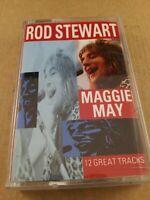 Rod Stewart : Maggie May : Vintage Cassette Tape Album