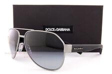 Brand New Dolce & Gabbana Sunglasses DG 2149 1262/8G Gunmetal/Gradient Gray Men