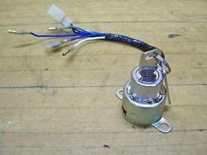Vintage NOS Hodaka Wombat 125 ACE 100 Motorcycle Main Ignition Key Switch