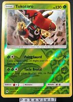 Carte Pokemon TOKOTORO 37/214 Holo Reverse Soleil et Lune 8 SL8 FR NEUF