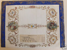 Calendrier (prototype) calendar 19ème siècle