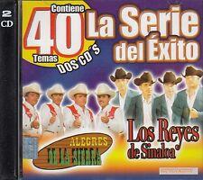 Alegres De La Sierra Los Reyes De Sinaloa LA Serie Del Exito 2CD New Nuevo
