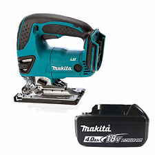 MAKITA 18V LXT DJV180Z JIGSAW & BL1840 BATTERY FUEL CELL INDICATOR