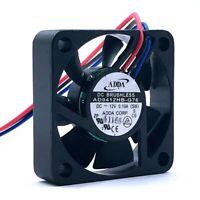 40mm fan New ADDA AD0412HB-G76 40*40*10mm 4CM 4010 12V 0.1A 3-wirel 6600RPM axia