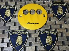 NEW LAMBORGHINI GALLARDO EGEAR YELLOW COVER PLATE E-GEAR (OeM) 04-14 LP560