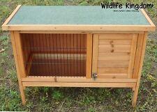 Wooden Rabbit Guinea Pig Hutch 3FT Wood Pet Ferret Coop Outdoor House 920mm Hide