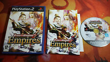 DYNASTY WARRIORS 5 EMPIRES PLAYSTATION 2 PS2 ENVÍO 24/48H