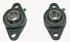 "Ucfl206-20 1-1/4"" 2 Bolt Flange Block Mounted Bearing Unit Fk Brand (Qty. 2)"