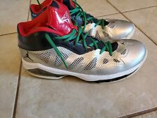 "Jordan Melo M8 Advanced ""Christmas"" MENS  11.5 VTG DS Carmelo Anthony BASKETBALL"