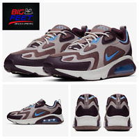 "Size 14 Nike Air Max 200 ""Chocolate Pastel Blue"" Men's Running Shoes AQ2568 200"