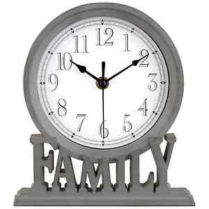 New Gorgeous Family Mantelpiece Clock Adding Cosy Sentiment to your Home N-21