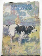 10775 National Sportsman Magazine ~ August 1914 ~ Sporting Hunting Fishing