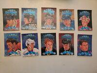 1994 Donruss Ice Kings 10 Card Complete Set Roy, Gretzky, Jagr, Chelios, Lemieux